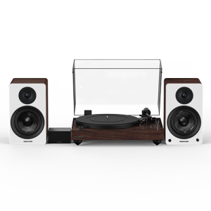"""Reference RT82 High Fidelity Vinyl Turntable with PA10 Phono Preamp and Ai41 Powered 5"""" Bookshelf Speakers - Thumbnail"""