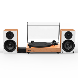 """Reference RT83 High Fidelity Vinyl Turntable with PA10 Phono Preamp and Ai41 Powered 5"""" Bookshelf Speakers - Thumbnail"""