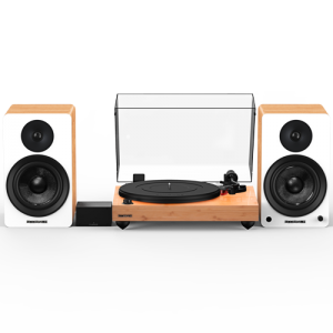 """Reference RT83 High Fidelity Vinyl Turntable with PA10 Phono Preamp and Ai61 Powered 6.5"""" Stereo Bookshelf Speakers - Thumbnail"""