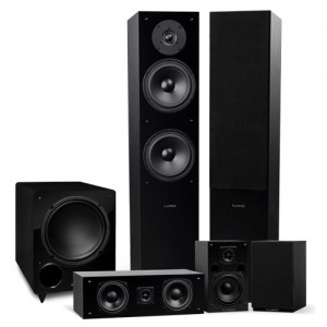 Elite Series Surround Sound Home Theater 5.1 Channel Speaker System - Small