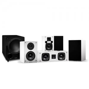 Elite Series Compact Surround Sound Home Theater 5.1 Channel Speaker System - Alternate 1