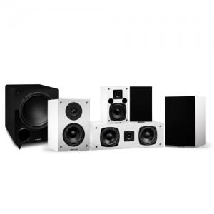 Elite Series Compact Surround Sound Home Theater 5.1 Channel Speaker System - Alternate 1