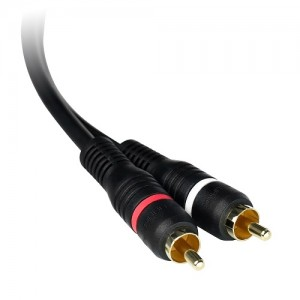 Premium Grade Low Capacitance RCA Audio Cable (3 Feet)