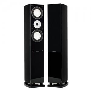 XL7F High Performance Three-way Floorstanding Loudspeakers - Black Ash