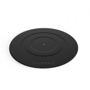 Fluance Turntable Platter Mat (Rubber Black)