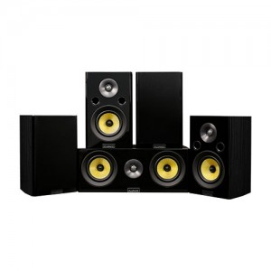 Signature Series Hi-Fi 5.0 Home Theater Speaker System with Bookshelf Speakers - Alternate