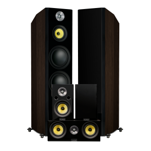 Fluance Signature HFHTB Home Theater Speaker System