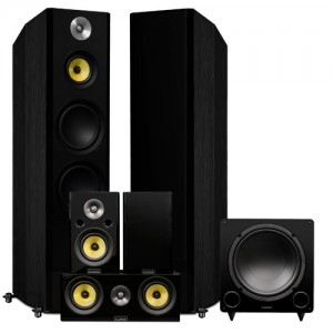 Signature Series Hi-Fi 5.1 Home Theater Speaker System - Alternate 2