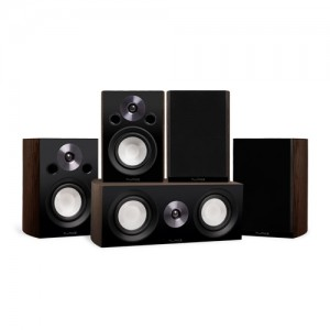 Reference Compact Surround Sound Home Theater 5.0 Channel Speaker System - Alternate 1