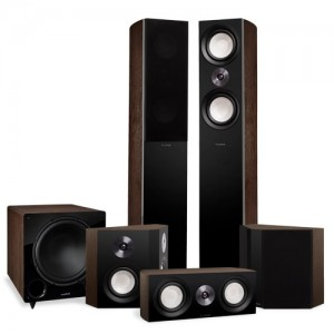 Reference Surround Sound Home Theater 5.1 Channel Speaker System with Bipolar Speakers and DB12 Subwoofer - Alternate 1