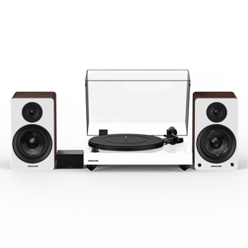 """Reference RT82 High Fidelity Vinyl Turntable with PA10 Phono Preamp and Ai41 Powered 5"""" Bookshelf Speakers"""