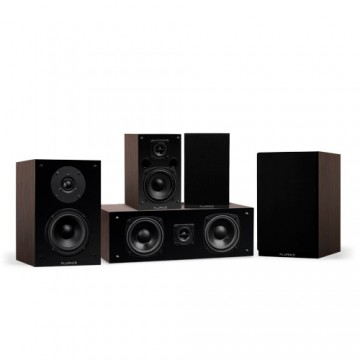 Elite High Definition Compact Surround Sound Home Theater 5.0 Channel Speaker System