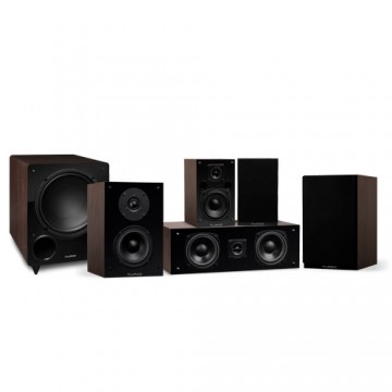 Elite Compact Surround Sound Home Theater 5.1 Channel Speaker System