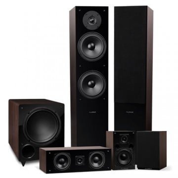 Elite High Definition Surround Sound Home Theater 5.1 Channel Speaker System