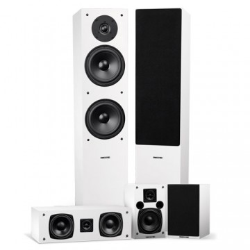 Elite High Definition Surround Sound Home Theater 5.0 Channel Speaker System