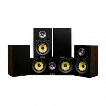 Signature Hi-Fi 5.0 Home Theater Speaker System with Bookshelf Speakers
