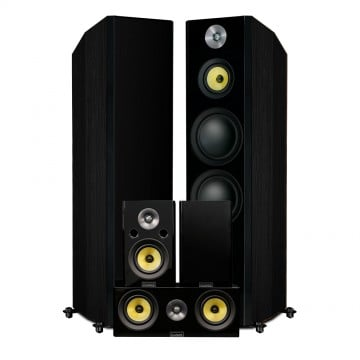 Signature HiFi Surround Sound Home Theater 5.0 Channel Speaker System