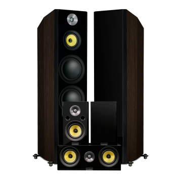 Signature Series Hi-Fi 5.0 Home Theater Speaker System