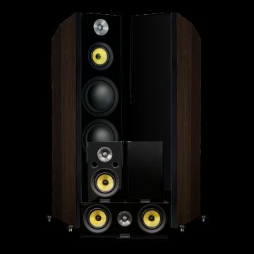 Signature HiFi Surround Sound Home Theater 5.0 Channel Speaker System