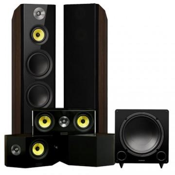 Signature Series Hi-Fi 5.1 Home Theater Speaker System with Bipolar Speakers