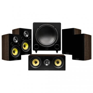 Signature Series Compact Surround Sound Home Theater 5.1 Channel Speaker System