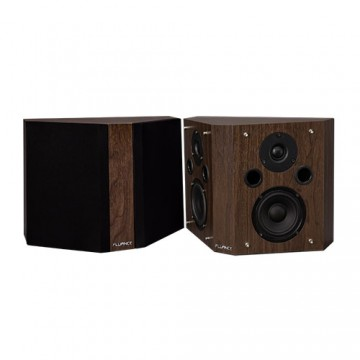 SXBP High Definition Bipolar Surround Sound Speakers -  Natural Walnut