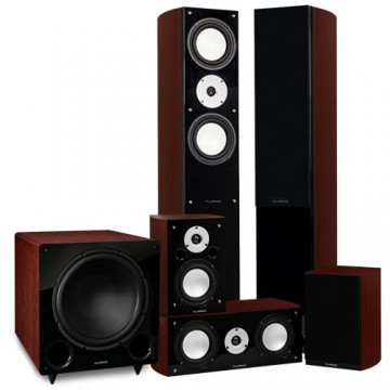 Reference Series Surround Sound Home Theater 5.1 Channel Speaker System