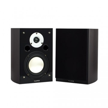 XL7S High Performance Two-way Bookshelf Surround Sound Speakers - Dark Walnut