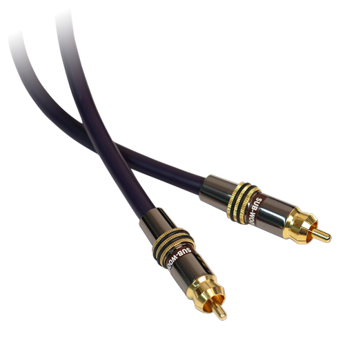 Ultimate Performance 15 Feet Subwoofer Cable