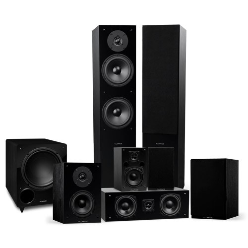 Elite Series Surround Sound Home Theater 7.1 Channel Speaker System - Small