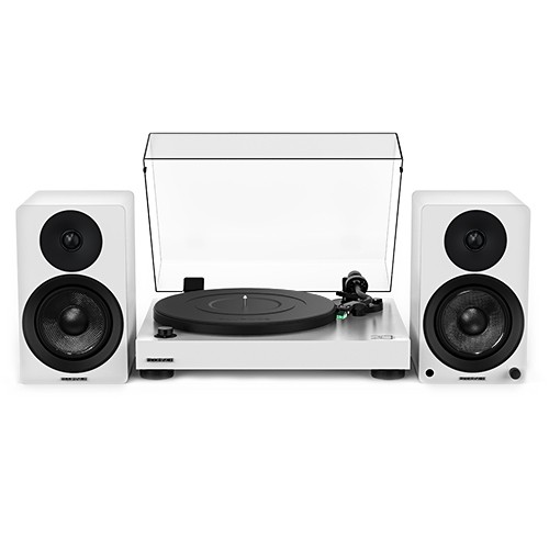 "20th Anniversary Edition – RT81 Elite High Fidelity Vinyl Turntable with Ai40 5"" Powered Bookshelf Speakers"