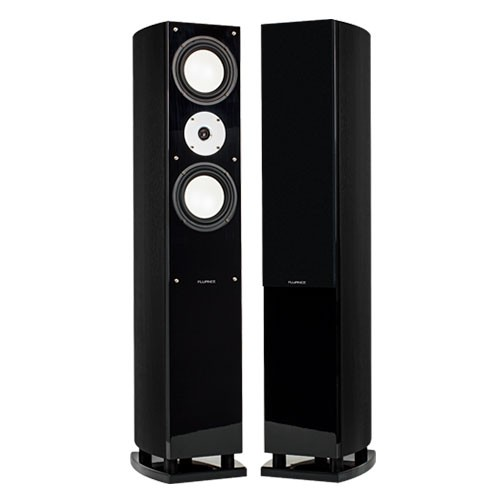 XL7F High Performance Three-way Floorstanding Loudspeakers - Black Ash