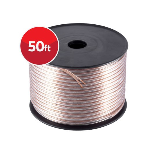 50' 12 Gauge High Flex Precision Audio Cable Ultra Speaker Wire - Alternate