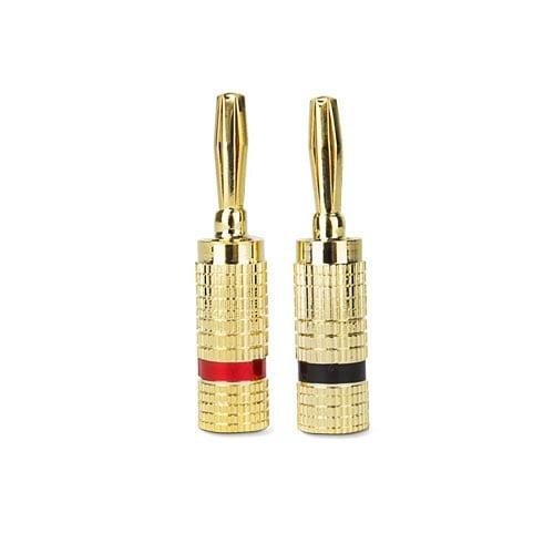 Premium Banana Plug Speaker Wire Connectors