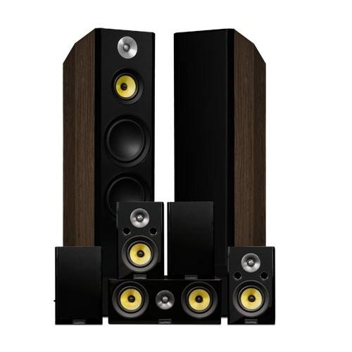 Signature Series Surround Sound Home Theater 7.0 Channel Speaker System - Walnut