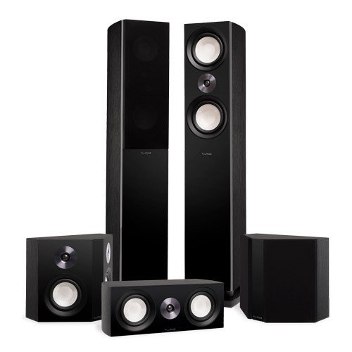 Reference Surround Sound Home Theater 5.0 Channel Speaker System with Bipolar Speakers  - Alternative 1