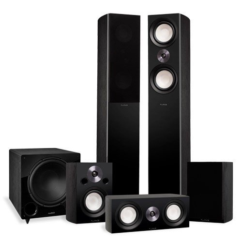 Reference Surround Sound Home Theater 5.1 Channel Speaker System with DB12 Subwoofer - Alternate 1