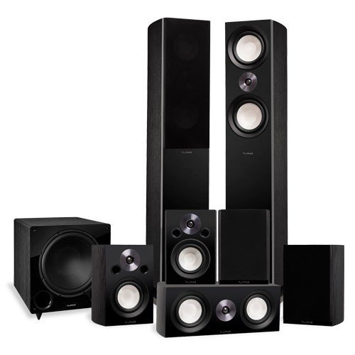 Reference Series Surround Sound Home Theater 7.1 Channel Speaker System with DB12 Subwoofer - Alternate 1