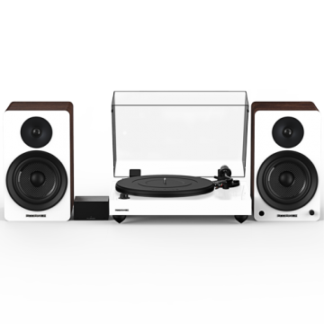"""Reference RT82 High Fidelity Vinyl Turntable with PA10 Phono Preamp and Ai61 Powered 6.5"""" Bookshelf Speakers"""