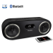 Fi50 Wireless Bluetooth Wood Speaker System Black