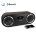 FI50B bluetooth speaker system walnut