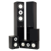 Fluance XL Series Dark Walnut Home Theater Speaker System