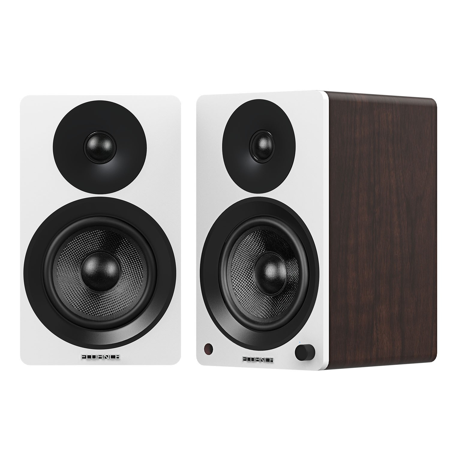 Ai60 High Performance Powered 6 5 Bookshelf Speakers