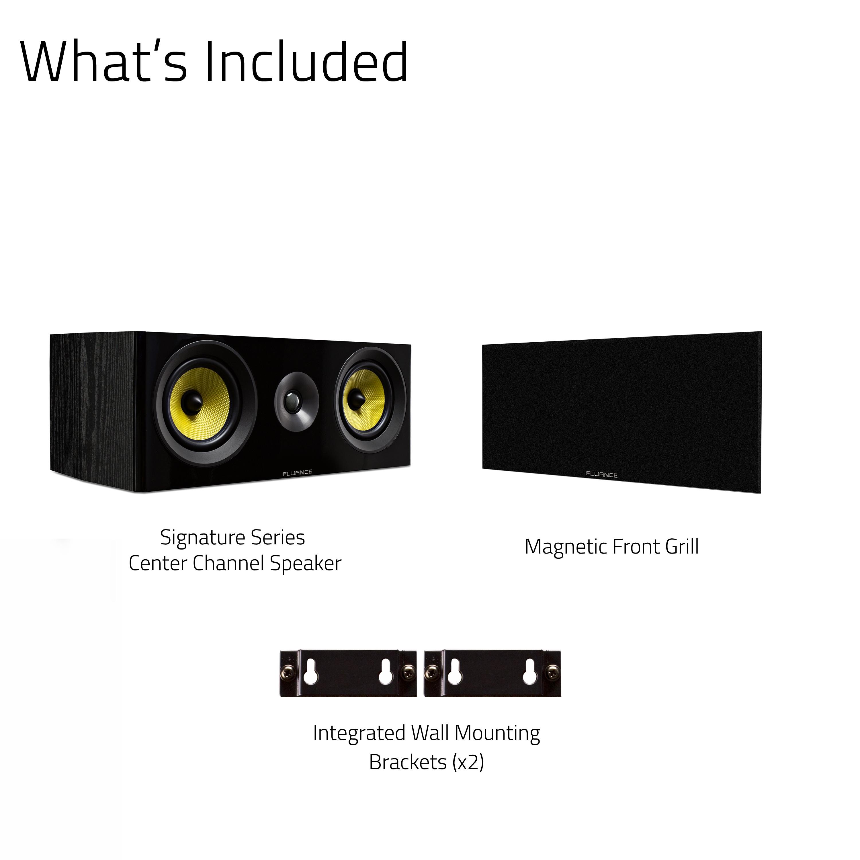 Signature HiFi 2-Way Center Channel Speaker
