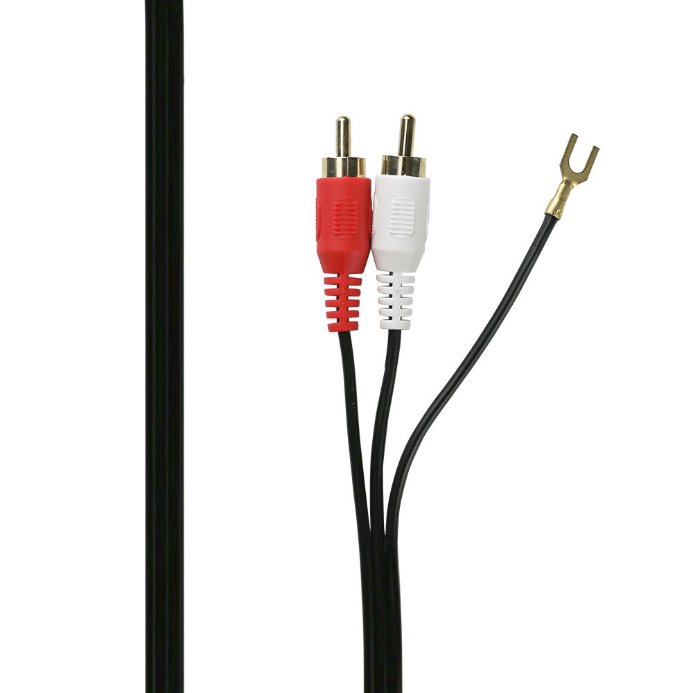 Old Fashioned Subwoofer Cable With Ground Wire Picture Collection ...