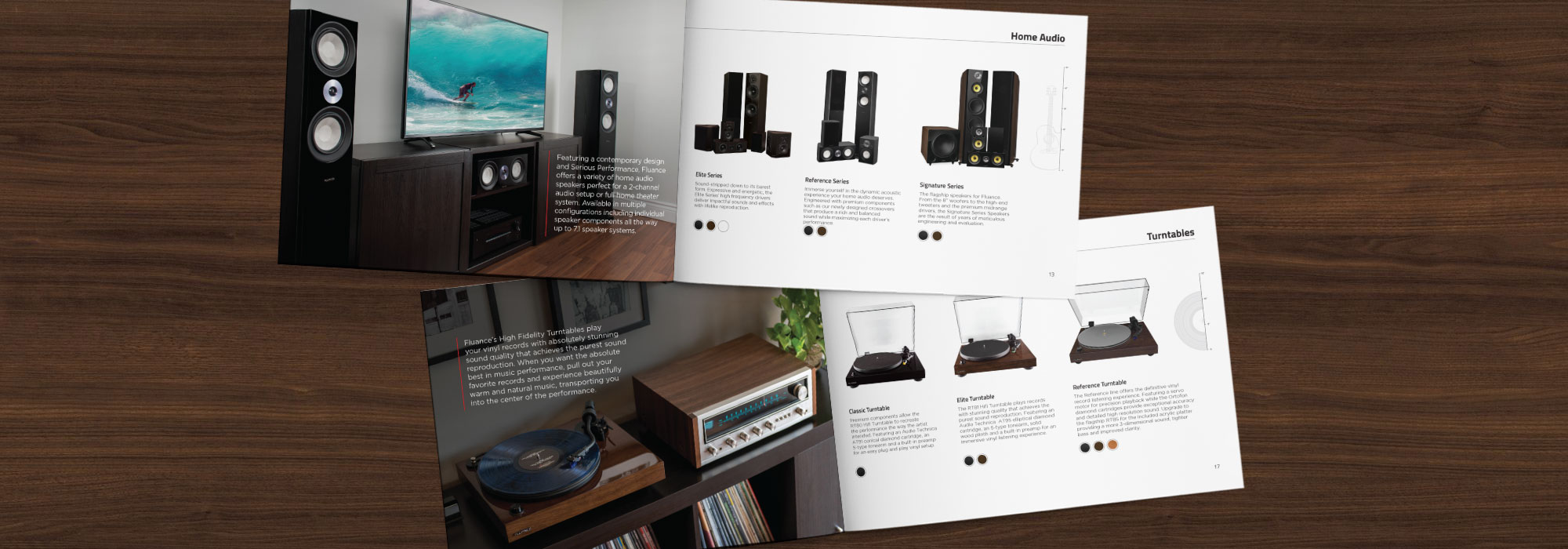 Turntables, Home Theater Surround Sound Speaker Systems and Home Audio Products | Fluance