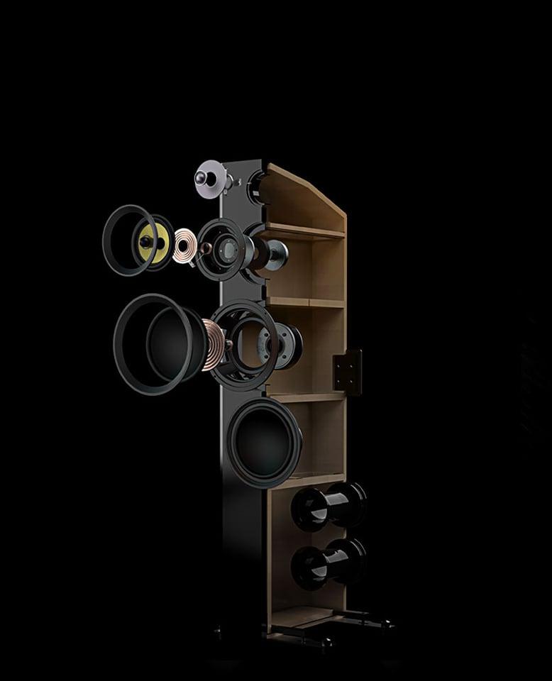 Signature Series Hi-Fi Three-way Floorstanding Speakers
