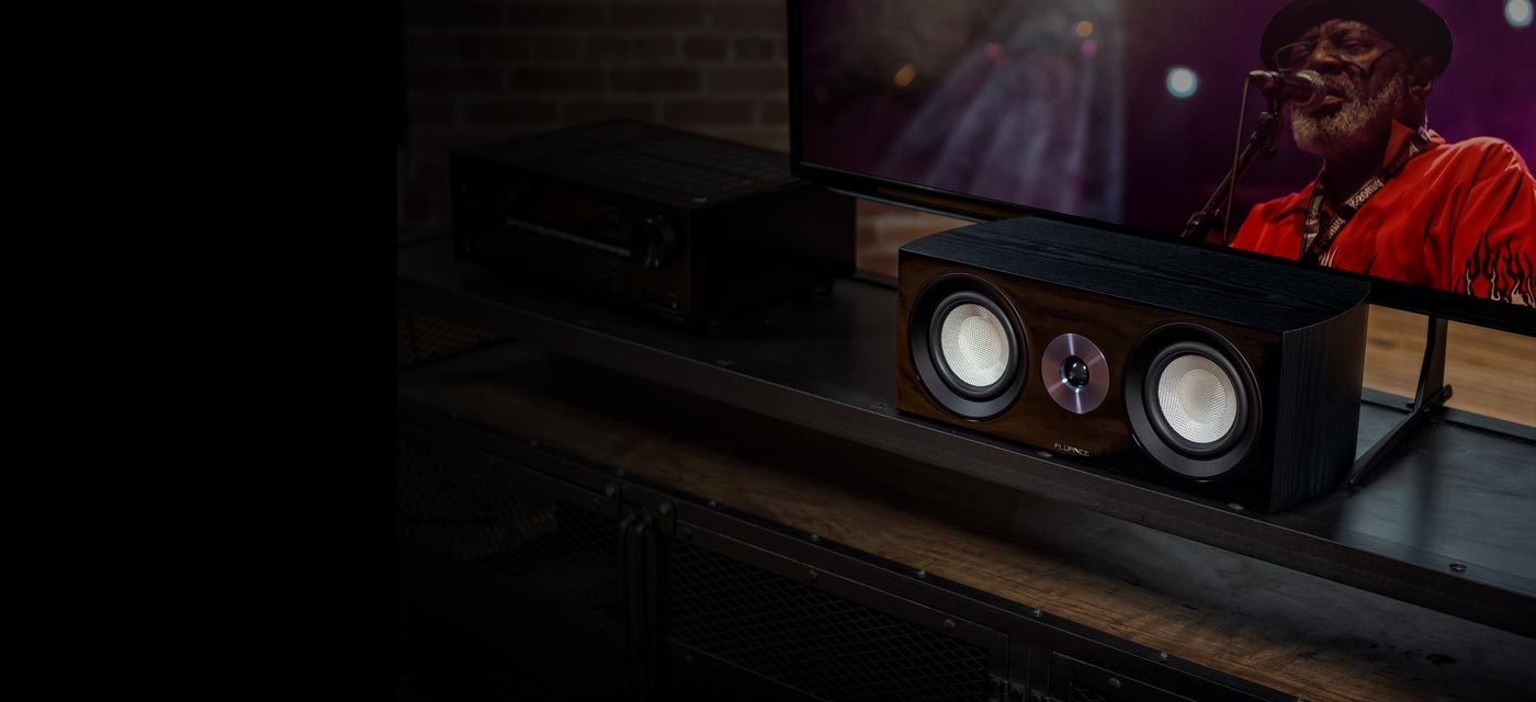 Reference High Performance 2-Way Center Channel Speaker
