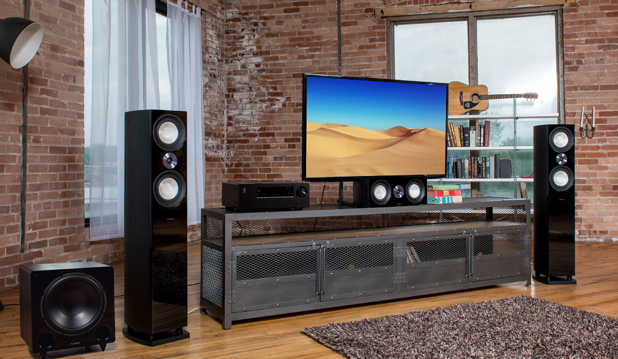 Fluance Reference Surround Sound Home Theater System