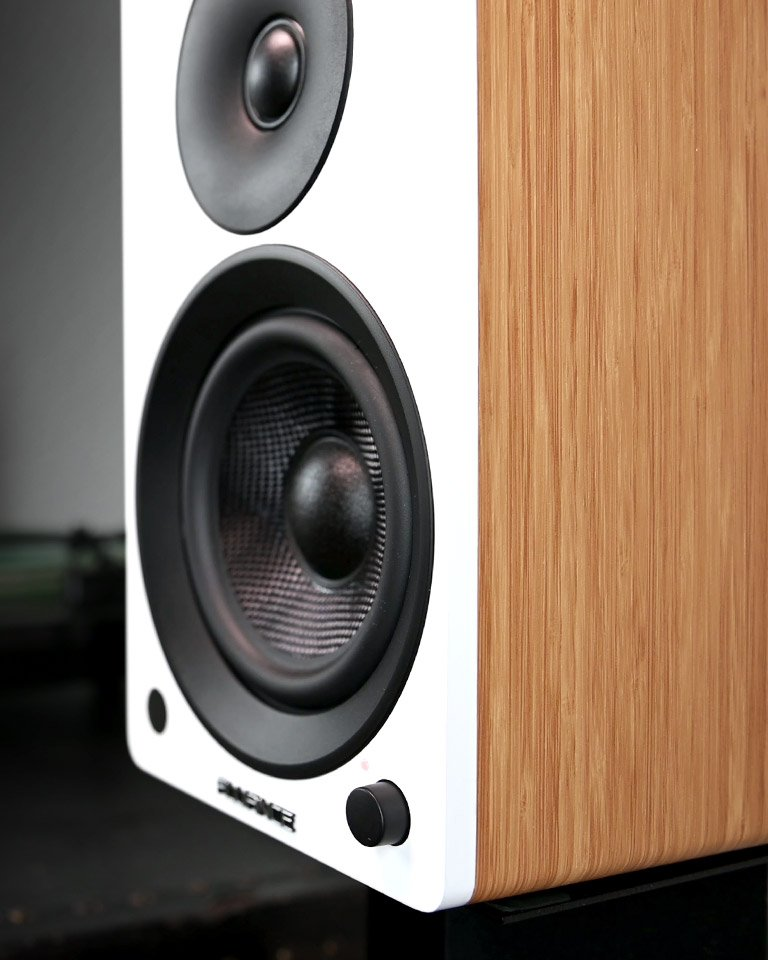 Ai61 Powered Stereo Bookshelf Speakers